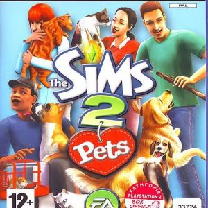 THE SIMS 2 PETS - PS2
