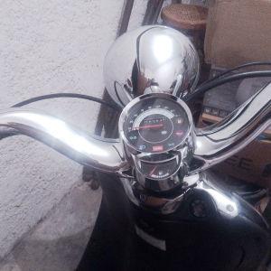 Μοτοσυκλέτα 125c retro style Havana custom. Μοντέλο 2001με πολύ λίγα χιλιόμετρα σε αρίστη κατάσταση και από πρώτο χέρι !!!