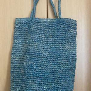 Τσάντα παραλίας γαλάζια