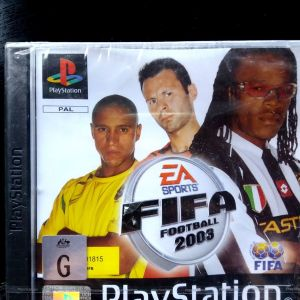FIFA football 2003 ps1 game