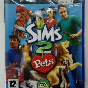 THE SIMS 2 PETS PS2 PLAYSTATION 2 TWO VIDEO GAME EUROPEAN PAL