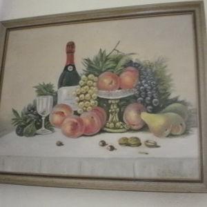ζωγραφικη σε καμβα  ( 60χ40)