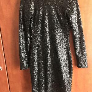 Μαύρο φόρεμα με στρας h&m no 34
