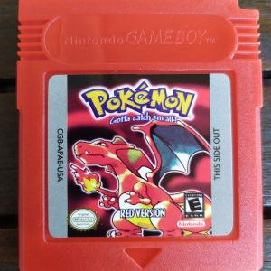 Pokémon Red Gameboy