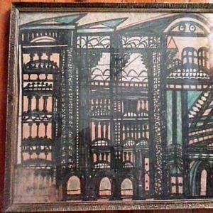 Συλλεκτικός πίνακας ζωγραφικής (ΛΑΙΚΟΣ  ΣΟΥΡΕΛΑΙΣΜΟΣ)