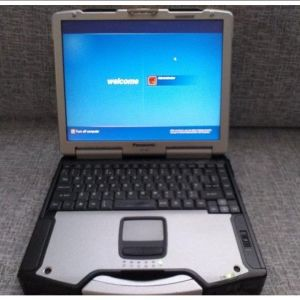 "Panasonic CF-29 13.3"" Toughbook PM 1GB RAM HDD WINDOWS XP Laptop"