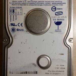 Εσωτερικος Σκληρος Δίσκος Maxtor DiamondMax 160GB