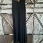 Αμπιγέ μαύρο φόρεμα