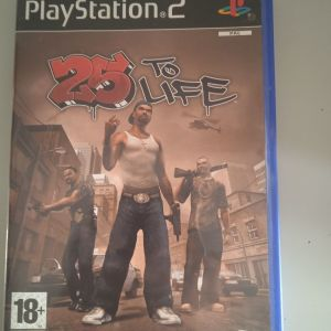 25 to life ps2