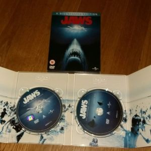 JAWS 1975 TWO DISC SPECIAL EDITION ANNIVERSARY SPIELBERG