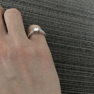 Δαχτυλίδι Swarovski 100% αυθεντικό 52