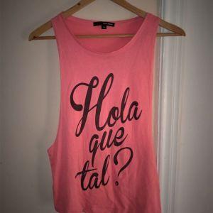 Tally Weijl αμάνικο γυναικείο T-shirt XS