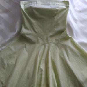 Φόρεμα Στράπλες Βαμβακερό