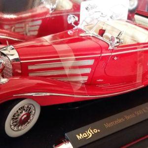 MERCEDES BENZ K-TYP 500 SPECIALROADSTER 1936!!! MAISTO 1/18