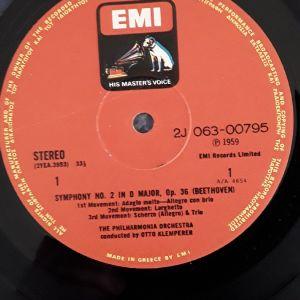 δίσκος symphony no 2 beethoven