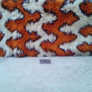 φλοκάτη Υφαντής στον αργαλειό με υπέροχο σχέδιο 2,60  x 1,80 εντελώς καινούργια αχρησιμοποίητη