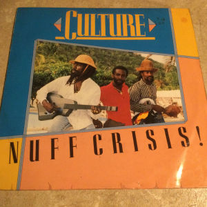 CULTURE - Nuff crisis (LP)
