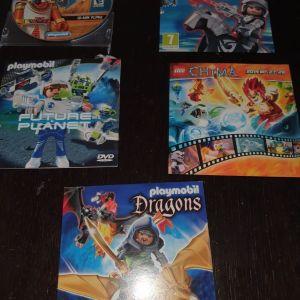 Dvd & cd playmobil
