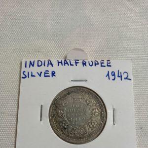 india asimenio 50 rupe 1942