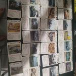 Σπάνιες κάρτες υπερατου με τανκς και φόρμουλα.