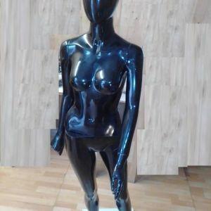 Κούκλα βιτρίνας, μαύρου χρώματος με βάση
