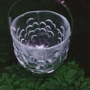 """Παγοθήκη Kosta Boda """"Kosgrap"""" Art Glas by Ann/Goran Warff, Sweden"""