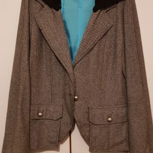 Σακάκι large με κουκούλα