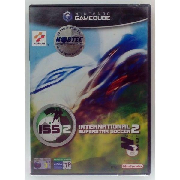INTERNATIONAL SUPERSTAR SOCCER 2 NINTENDO GAMECUBE EUROPEAN NORTEC