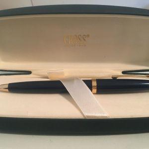 Στυλό Ballpoint Pen Cross Vintage Χρυσό με Λάκα