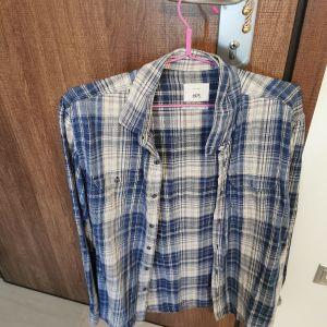 ανδρικο πουκάμισο καρό slim fit μέγεθος xlarge στενή γραμμή