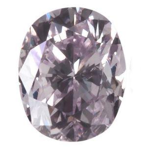 Πανεμορφω και Σπάνιο διαμάντι - Rare 0.22ct Natural Fancy Purple Pink Oval Modified Brilliant Diamond GIA Certified