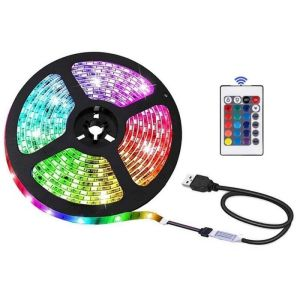 Led Ταινία RGB 210cm Αυτοκόλλητη SMD 5050 USB TV