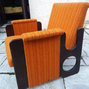 Σετ vintage πολυθρόνες 70's