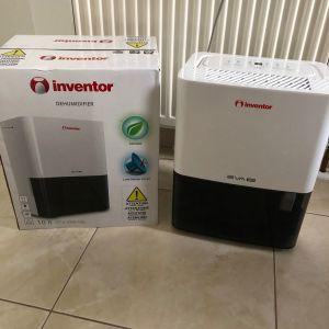 Αφυγραντήρας & Ιονιστής Inventor 10lt για χώρους 50m2 αθόρυβη δράση και λειτουργία ιονιστή για καθαρισμό της ατμόσφαιρας Άθικτος