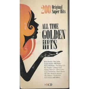 8 CD  / ALL TIME  COLDEN HITS