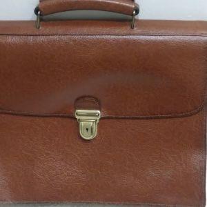 Τσάντα επαγγελματική δερμάτινη vintage