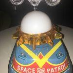 Space διαστημόπλοιο Ανανιάδης τσίγκινο