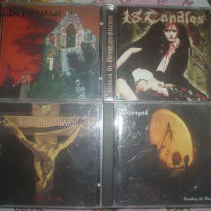 Heavy Metal, Hard Rock, Death Metal, Power Metal, Progressive Metal, Thrash Metal, Doom Metal, CD