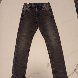 jeans μαύρο παιδικό παντελόνι IDEXE