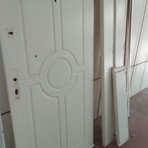 Πορτα διαμερίσματος αριστερή με κασα και περβάζια