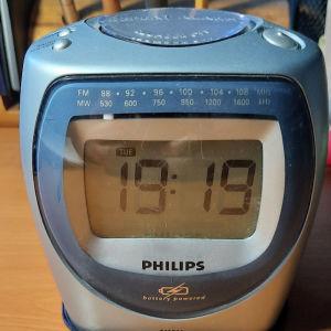 Ρολόι-ξυπνητήρι-ραδιόφωνο Philips