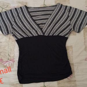 κρουαζέ κοντομάνικη μπλούζα
