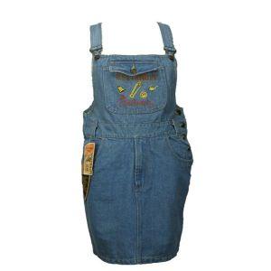 Vintage jean σαλοπέτα φούστα 1980s
