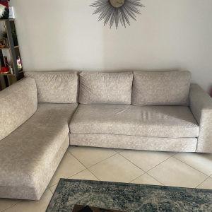 Καναπές γωνιακός τετραθέσιος