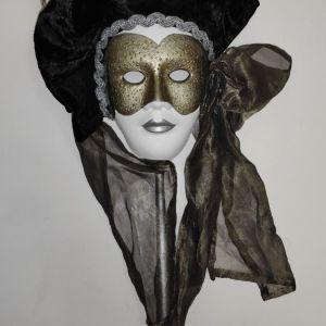Handmade Venetian Masquerade Mask 3 - Made in Italy