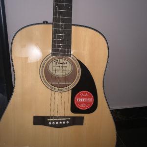 Ακουστική Κιθάρα fender μοντελο CD-60 v3 με δώρο θήκη.