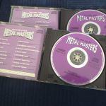 2 HEAVY METAL ΣΥΛΛΟΓΕΣ CD – METAL MASTERS VOL.1 & 4