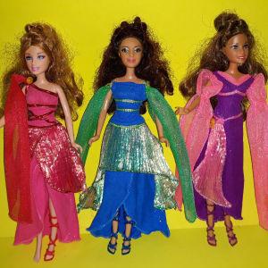 Barbie Diamond castle Princess Muse Dolls
