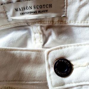 Maison Scotch λευκό τζιν 29 size