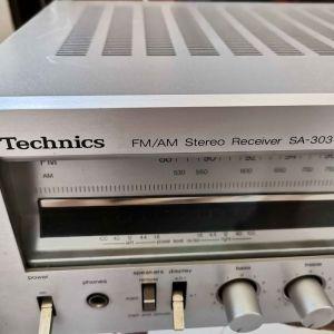 ΕΝΙΣΧΥΤΗΣ...TECHNICS SA-303  ( Made In Japan-1978 )